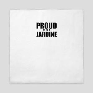 Proud to be JARDINE Queen Duvet