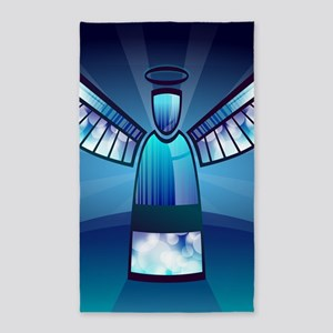 Abstract Angel Area Rug