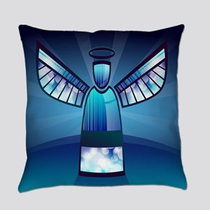 Abstract Angel Everyday Pillow