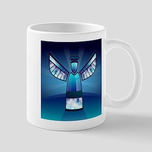 Abstract Angel Mugs
