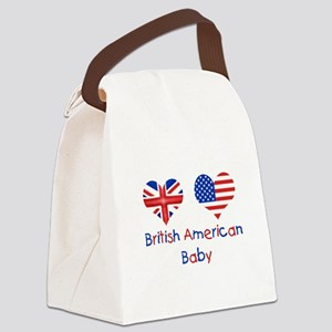 british-american-baby-7x5 Canvas Lunch Bag
