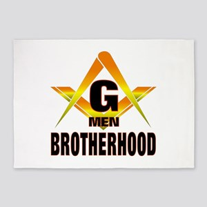 Brotherhood G Men 5'x7'Area Rug