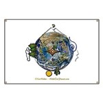 Hiker's Soul Compass Earth Banner
