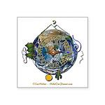 Hiker's Soul Compass Earth Sticker