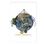 Hiker's Soul Compass Earth Postcards (Package of 8