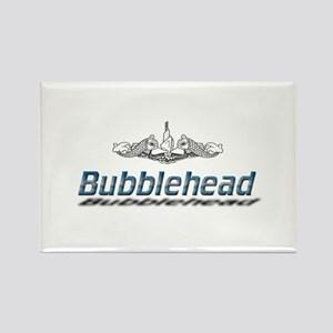 Bubblehead Rectangle Magnet