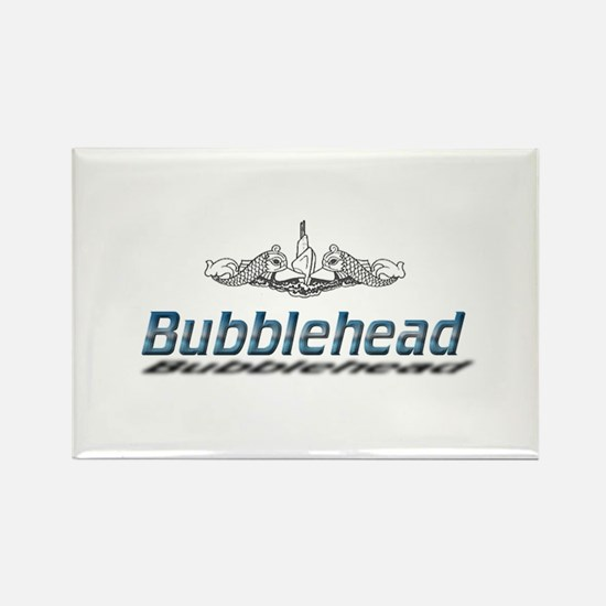 Bubblehead Rectangle Magnet