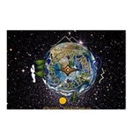 Hiker's Soul Compass Space Postcards (Package of 8