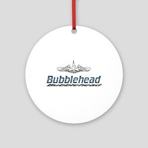 Bubblehead Round Ornament