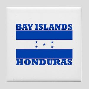 Bay Islands, Honduras Tile Coaster