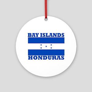 Bay Islands, Honduras Ornament (Round)