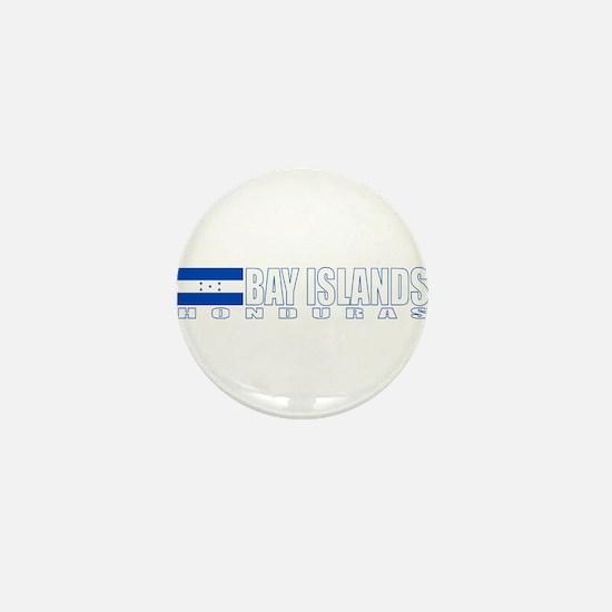 Bay Islands, Honduras Mini Button