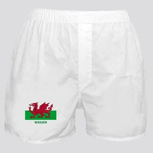 Flag of Wales Boxer Shorts
