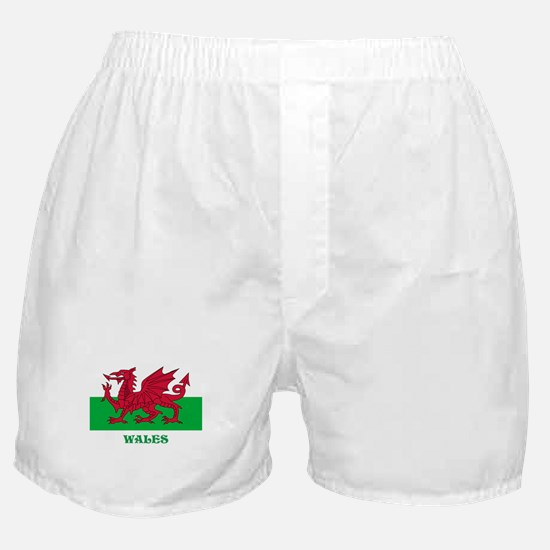 Flag of Wales Boxer Shorts