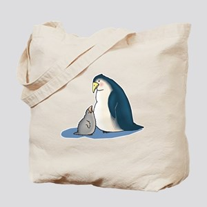 Mommy/Daddy & Baby Penguin Tote Bag