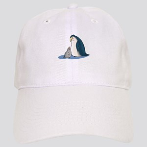 Mommy/Daddy & Baby Penguin Cap