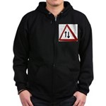 Two way Zip Hoody