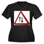 Two way Plus Size T-Shirt