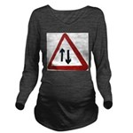 Two way Long Sleeve Maternity T-Shirt