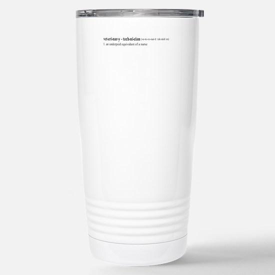 Vet Tech Definition Mugs