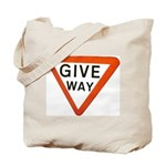 Give Way Tote Bag