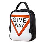 Give Way Neoprene Lunch Bag