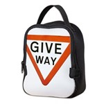 Give Way Neoprene Lunch Bag