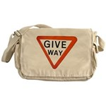 Give Way Messenger Bag
