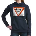 Give Way Women's Hooded Sweatshirt