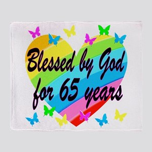 65TH PRAYER Throw Blanket
