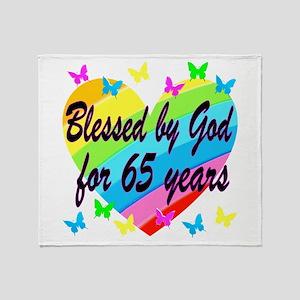 65TH PRAYER Throw Blanket