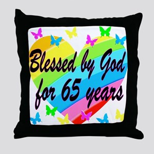 65TH PRAYER Throw Pillow
