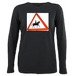 Horse Plus Size Long Sleeve Tee
