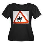 Horse Plus Size T-Shirt