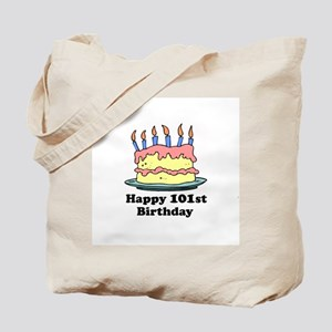 Happy 101st Birthday Tote Bag