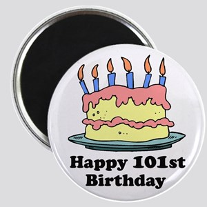 Happy 101st Birthday Magnet