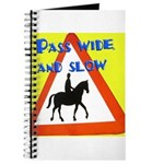 Pass wide and slow Journal