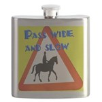 Pass wide and slow Flask