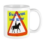 Pass wide and slow Mugs