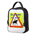 Pass wide and slow Neoprene Lunch Bag