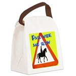 Pass wide and slow Canvas Lunch Bag