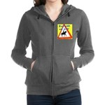 Pass wide and slow Women's Zip Hoodie