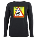 Pass wide and slow Plus Size Long Sleeve Tee
