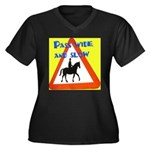 Pass wide and slow Plus Size T-Shirt