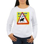Pass wide and slow Long Sleeve T-Shirt