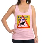 Pass wide and slow Racerback Tank Top