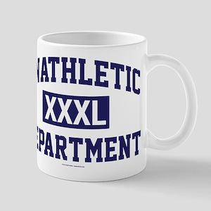 Unathletic Department XXXL Mugs