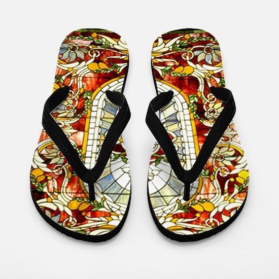 Regal Splendor Art Flip Flops