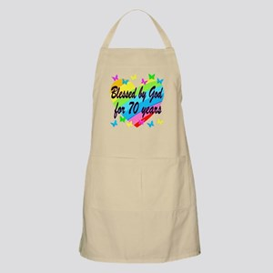 70TH BLESSING Apron