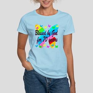 70TH BLESSING Women's Light T-Shirt